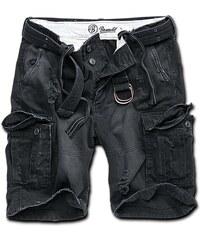 Brandit Kalhoty krátké Shell Valley Heavy Vintage černé 3e87b5f382