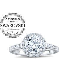 SILVEGO Stříbrný prsten SKYE se Swarovski(R) Zirconia FNJSMR035sw 474dc4436c7