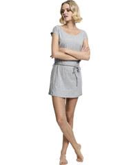 Dámske šaty URBAN CLASSICS Ladies Slub Jersey Dress šedá a66d5190160
