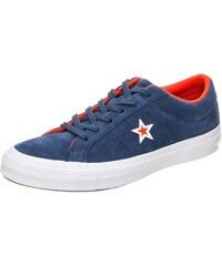CONVERSE Tenisky  Cons One Star Suede Molded Ox  tmavě modrá   oranžově  červená   d2e2b6a09ac
