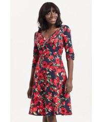 VOODOO VIXEN Dámské retro šaty ROSE květinové c27ae89e10