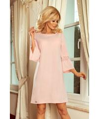 Šaty dámské Numoco 190 1 pastel pink 0fc94029a2