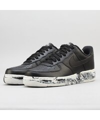 Nike Air Force 1  07 LV8 Leather black   black - summit white ad93a624163