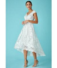 774c393ea3d CITYGODDESS Dlouhé společenské šaty Sirael bílé
