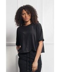 23303d52967d Dámske čierne tričko s krátkym rukávom Sixth June Ultra Oversized