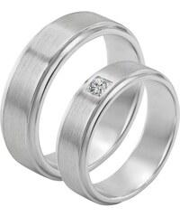 Eppi Zlaté svadobné obrúčky s okrúhlym diamantom Madisson ffff468d44a
