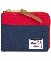 b68f0d9720 HERSCHEL Tmavomodrá peňaženka Johnny RFID