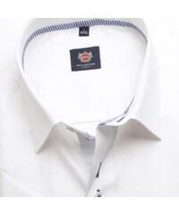 8c90157416f8 Willsoor Pánska košele WR Classic s krátkym rukávom v biele farbe (výška  176-182