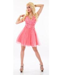 c3166d58c2c Diva Fashion Paris Společenské krátké šaty s flitry