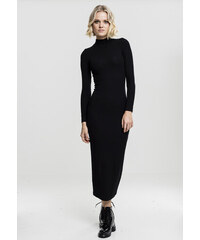 Dámske šaty URBAN CLASSICS Ladies Long Turtleneck Dress black 2a7476c0400