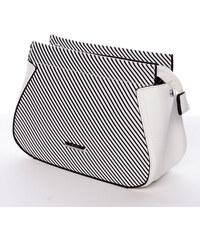 Malá originálne crossbody kabelka biela - Silvia Rosa Media biela 13cb79b65d6