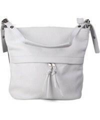 ITALSKÉ Bíle kožené kabelky z Itálie Angola e14f3bdac7b