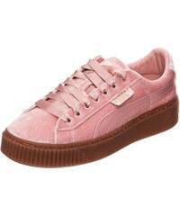 761dc3f7828 PUMA Tenisky  Basket Platform VS  růžová