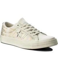 Sneakersy TOMMY HILFIGER - Star Jeweld Leather Sneaker FW0FW02674 ... 248ac25cf1