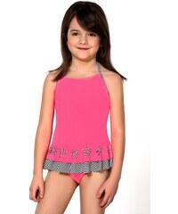 9e96e0c4943 LORIN Dívčí plavky Ciana růžová