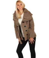 Krátke Dámske kabáty z obchodu GLARA.sk  4fbf596ea73