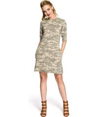 376b20501a0c Šaty s trojštvrťovým rukávom z obchodu Modalux.sk