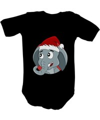 T-shock dětské body classic s potiskem Vánoční slon dětské 9c8fdc1eba