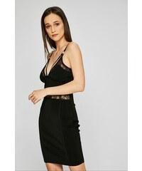 Šaty Guess Cap Sleeve Lace Back Body-Con Dress bílé - Glami.cz d8f374578f