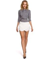 0ba3cd14122 Dámské krátké kalhoty MOE M091 bílé