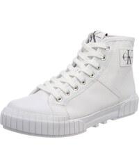 Ritzy Canvas, Baskets Hautes Femme, Blanc (WHT 000), 37 EUCalvin Klein Jeans