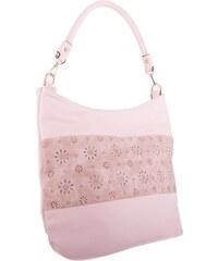 Staro růžová vzorovaná dámská kabelka přes rameno Vellie 07b4b1b0c43
