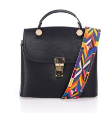 Čierna kožená kabelka Giorgio Costa Nicoletta 2e63d3b2b8e