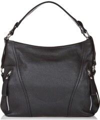Černá kožená kabelka Giorgio Costa Sissala 853c8677f9f