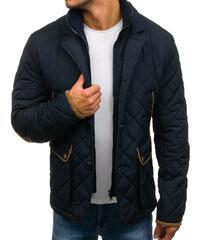 Tmavomodrá pánska zimná elegantná bunda BOLF 3086 ede553a725b