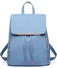 Světle modrý stylový dámský modní batoh Frell 4428496446