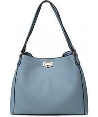Světle modrá dámská hobo kabelka přes rameno Eliel d60dc67c748