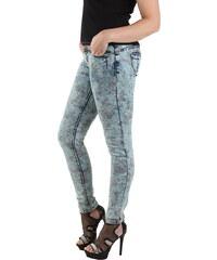 Dámske jeansové nohavice ROCK ANGEL b5e8a19ceed