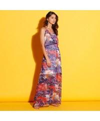 Blancheporte Dlouhé šaty s potiskem vícebarevná 26149be32b