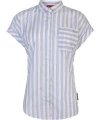 Lee Cooper Short Sleeve Casual Stripe Shirt Ladies 9ebd0b62b9