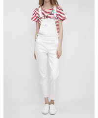 Pepe Jeans dámské bílé džíny Porcelain s laclem 9798da827b