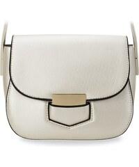 World-Style.cz Elegantní dámská kabelka listonoška zpevněná bílá 82985fdd80