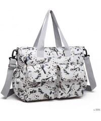 Miss Lulu London E6603-16J - MISS LULU matt vászon pelenkázó BABY CHANGING  táska szett d721b9952f