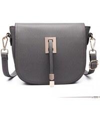6521cc70c8 Miss Lulu London LT6631 - Miss Lulu szintetikus bőr Cross Body táska táska  szürke  kac
