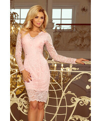 Šaty dámské NUMOCO 170 4 pastel pink 0924c18331