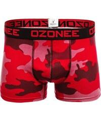 95e5c76bdc Ozonee 0953 Pánské Boxerky Červené-Maskáčové
