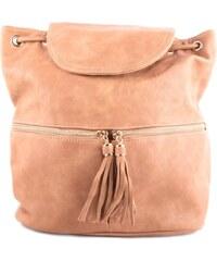 f8cdcf782b Mahel Hnědý elegantní moderní dámský batoh Sennie