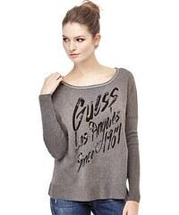 Guess dámský šedý svetr ce52837417