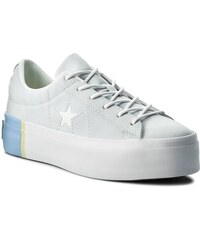 Sportcipő CONVERSE - One Star Platform Ox 559903C Blue Tint Blue Chill White 2b53488aec