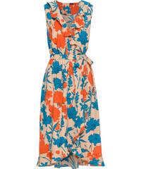 Bonprix Zavinovacie šaty s volánikmi 4932ca744f1