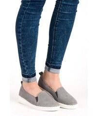 e06d60d490236 Sivé Dámske topánky z obchodu CasNaTopanky.sk | 20 kúskov na jednom ...