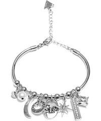 GUESS náramok Silver-Tone Bangle Bracelet 5e7f2c6a31e