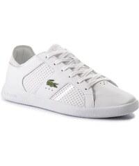 Sneakersy LACOSTE - Novas Ct 118 2 Spm 7-35SPM0040108 Wht Slv 0ae6e9d15a8