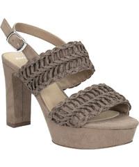 9d3f0e4044fe Bata Dámske sandále na stabilnom podpätku s prepletením