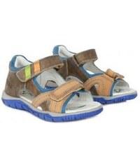 c7ea61d9c9a5 D.D. Step DD STEP celokožené letné sandále K330-4000AL chocolate