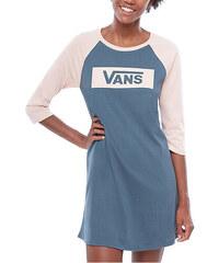 VANS Dámské šaty Open Road Raglan Dress Dark Slate VA3INN5RW 0d08a55ddd